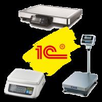 Драйвер электронных весов CAS для работы в 1С